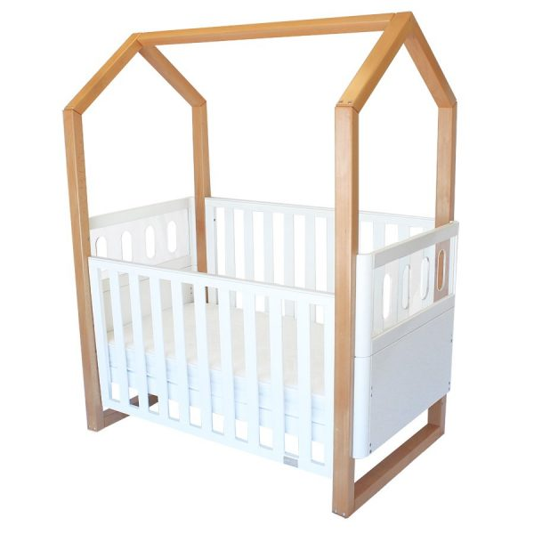 kaylula mila cot in cot mode with dropside down