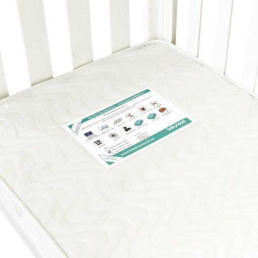 my first innerspring cot mattress