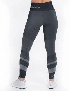 supacore jacinda grey postpartum compression leggings back view grey