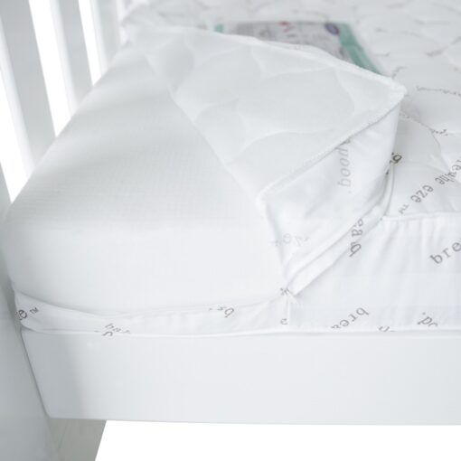 breathe eze cot mattress removable cover