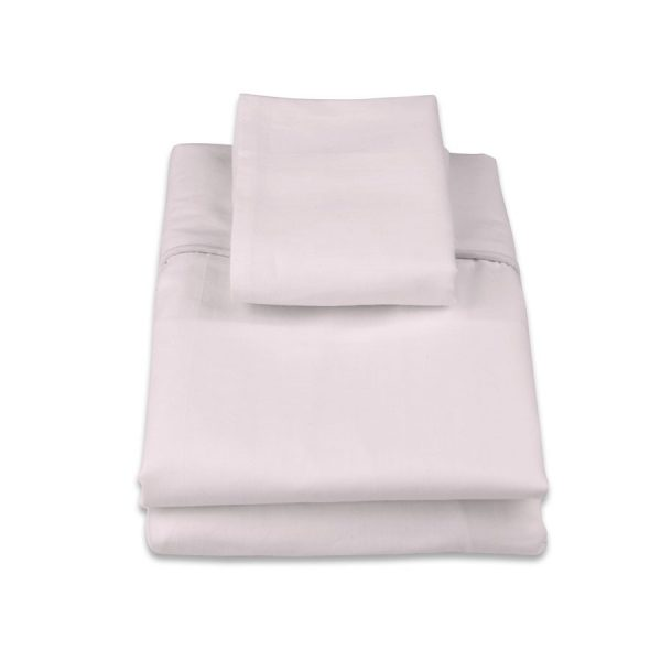 classic cot sheet set in pink