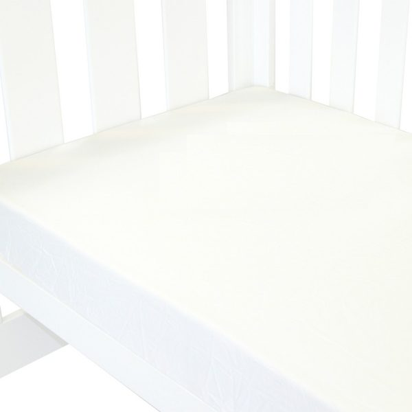 fitted cot sheet collection classic white version