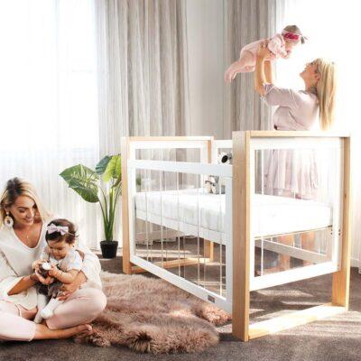 kaylula bella cot in bedroom setting