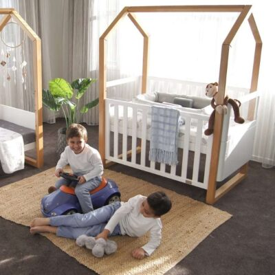 kaylula mila cot in a bedroom