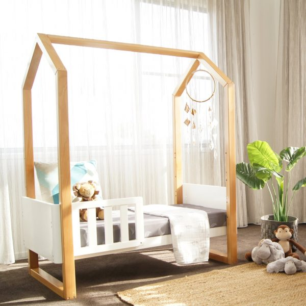 kaylula mila cot toddler bed in nursery