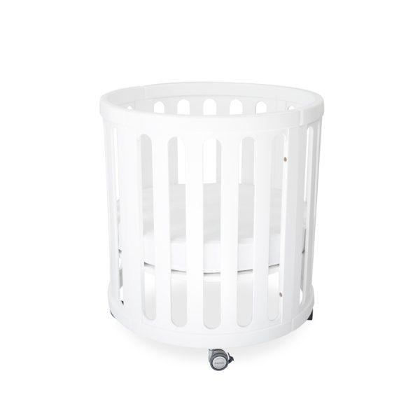 kaylula sova cot classic white bassinet