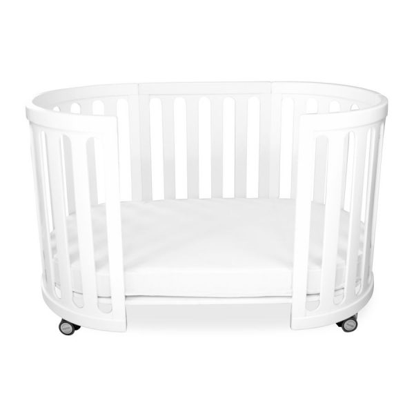 kaylula sova cot classic white toddler bed