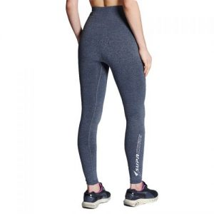 supacore postpartum compression leggings back view in grey