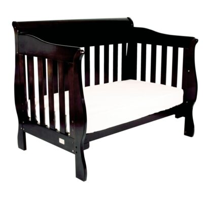 amani sleigh cot set as day bed in English Oak stain