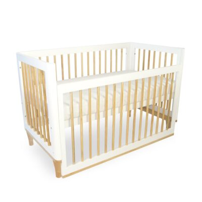 riya cot in bassinet mode with dropside down
