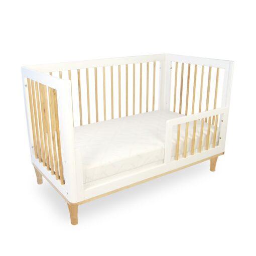 riya cot as toddler bed with rail
