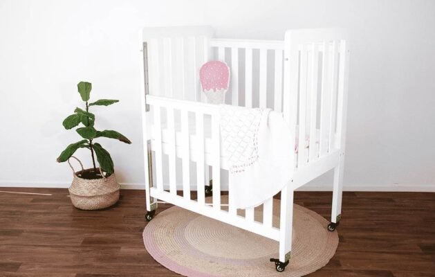 compact ergonomic cot ideal for room sharing
