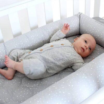 breathe eze cosy crib in cot