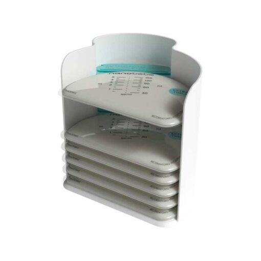 nanobebe breastmilk stacker and organiser