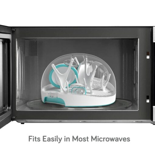 nanobebe microwave steam steriliser in microwave