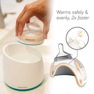 nanobebe newborn gift set bottle warmer