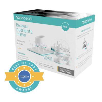 nanobebe newborn gift set packaging