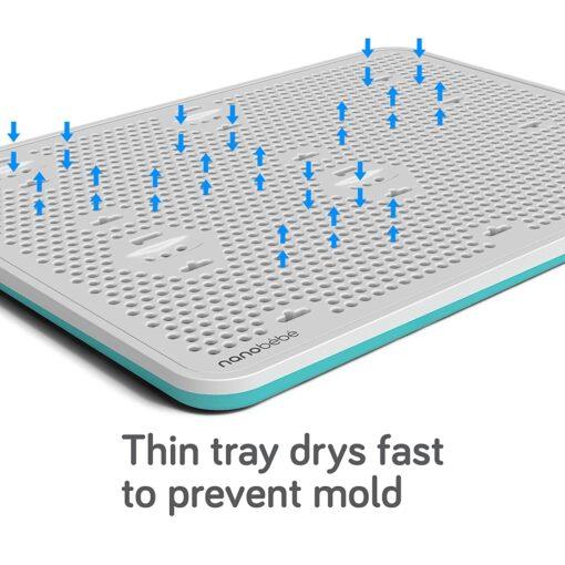 nanobebe slim drying rack dries fast