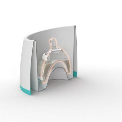 nanobebe smart warming bowl inner workings