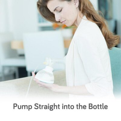 nanobebe starter set pumping into bottle